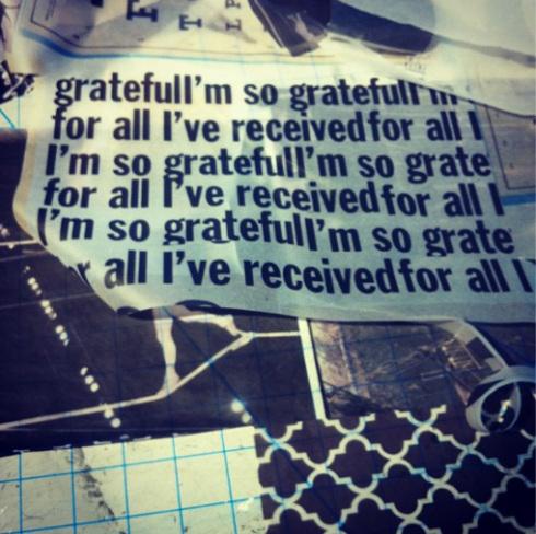 I'm so grateful